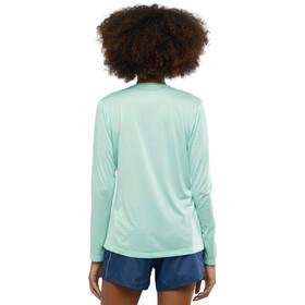 Salomon Agile T-shirt Manches longues Femme, icy morn/wht/heather